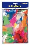 Playbox, Fjädrar, 14g, Blandade Färger
