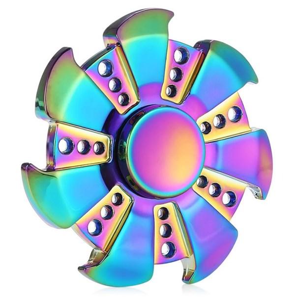 Fidget Spinner, Rainbow