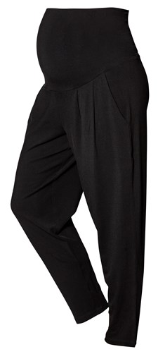 Boob Once-On-Never-Off Loose Pants, Black