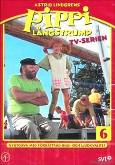 Pippi Långstrump - Tv-serien 6 (håller avskedskalas/går ombord)