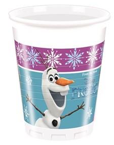 Disney Frost Plastmugger, 8 st