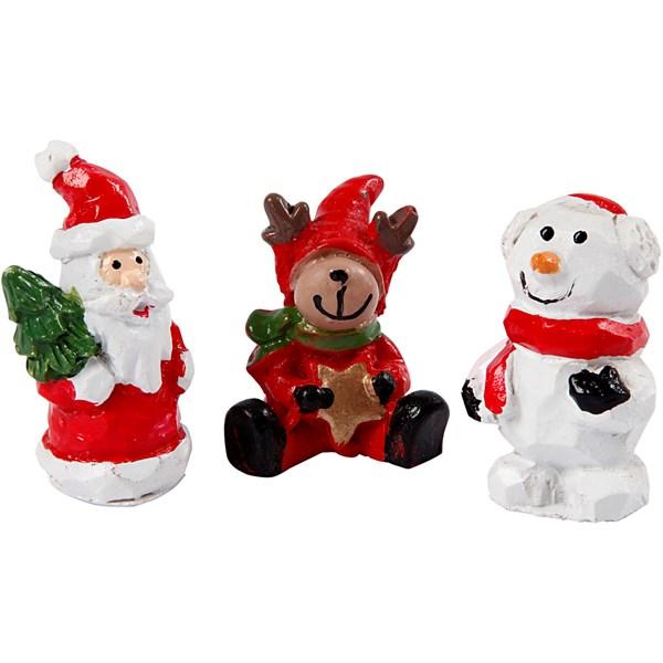 Bildresultat för julfigurer i plast