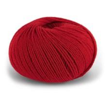 Dale Garn Pure Eco Baby Wool Økologisk Ull 50 g Klarrød 1324