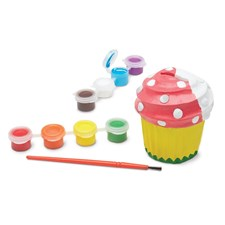 Decorate your own, Spargris, Cupcake, Melissa & Doug