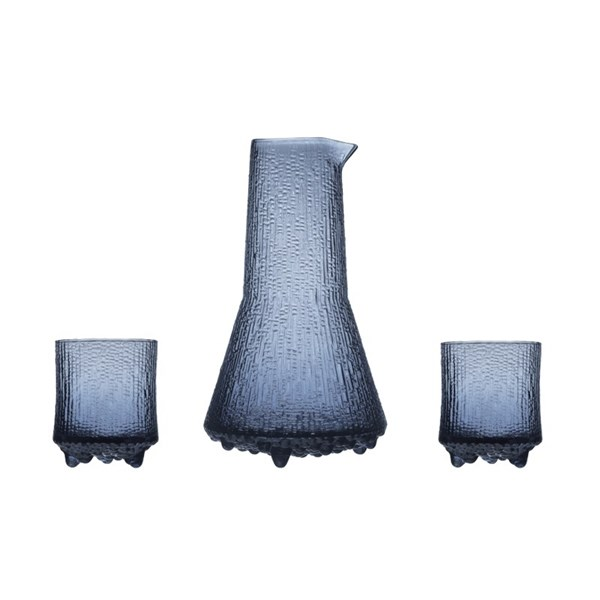 Iittala Ultima Thule Glas 3-pack & Karaff 50 cl Glas Regn