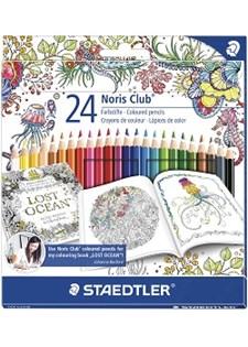 Färgpenna Staedtler Noris Club 24/FP