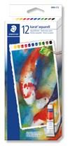 Karat® akvarellfärg i tub 12-pack