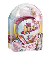 Hörlurar Med Glitter, Disney Soy Luna