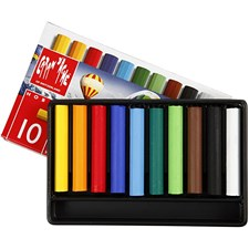Neocolor I, tykkelse 8 mm, L: 5 cm, ass. Farger, junior, 10stk.