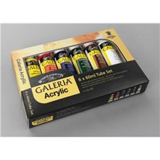 Akrylfärg Galeria 6x60 ml Set