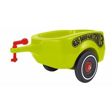 Big tilhenger til Bobby Car, grønn