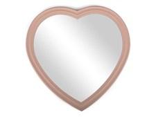 Liten spegel hjärta, rosa, Form Living