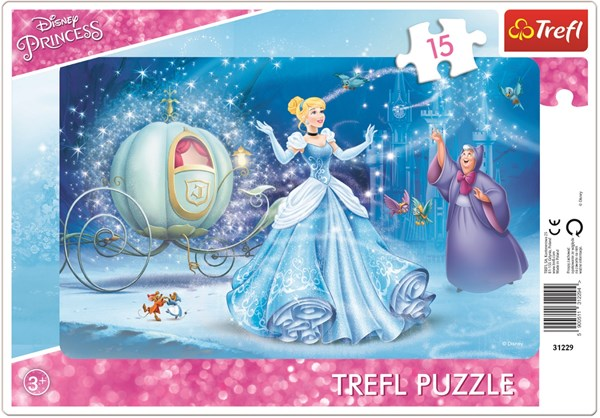 Rampussel 15 bitar, Askungen, Disney Princess
