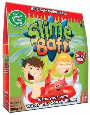 Slime Baff, Bada i slime, 300g, Röd