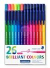 Triplus® color 26-pakke,  1 mm fiberspiss, vannbasert