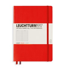 LT NOTEBOOK A5 Hard red 249 p. ruled