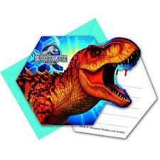 Jurassic Park Inbjudningskort, 6 st
