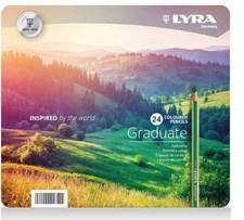 Lyra Graduate färgpenna 24-pack
