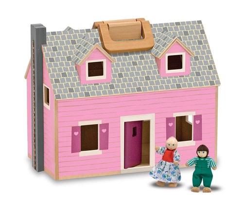 Fold & Go -Dockhus  Melissa & Doug - figurer & miniatyrer