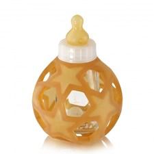 Nappflaska Glass bottle, 0+ WHITE CAP, Hevea