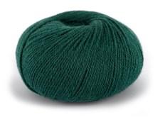 Du store Alpacka Wool Garn Alpacka Ullmix 50 g Mörk Blågrön 524