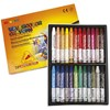 Akvarellkritor 9 mm 24 Färger