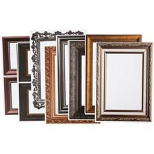 Kehykset, arkki 26,2x18,5 cm, 16 laj. arkki, metallic-värit