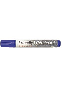 Whiteboardpennor Rund Blå 1 st