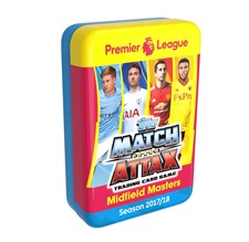 Premier League Mega Tin Box 2017-2018