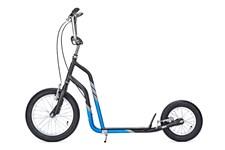 Yedoo City, Svart/Blå, Sparkcykel med lufthjul