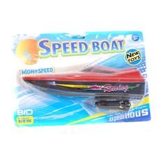 Sportbåt, röd, Summertime