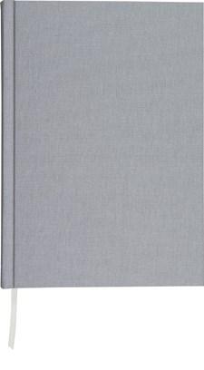 Muistikirja Burde Pellavatekstiili A4 Harmaa