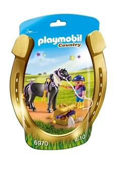 """Styla ponnyhästen """"Stjärna"""", Playmobil (6970)"""