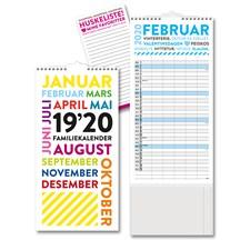 Familiekalender 19/20 Måned GRIEG TrendArt