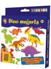 Aktivitetssett, Dinosaurmagneter, Playbox