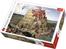 Babel Tower, Pussel 4000 bitar