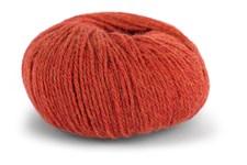 Knit At Home Classic Alpaca Wool Garn Ullmix 50 g Oransje Melert 522