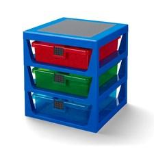 LEGO Lådförvaring 3 lådor, Blå