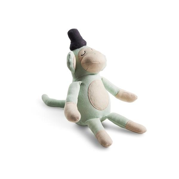 Södahl Magic Forest Nallebjörn Monty Monkey 100% Ekologisk Bomull 50 cm Grön