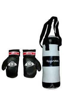 Boxningssäck med handskar, 3 kg, Sportme