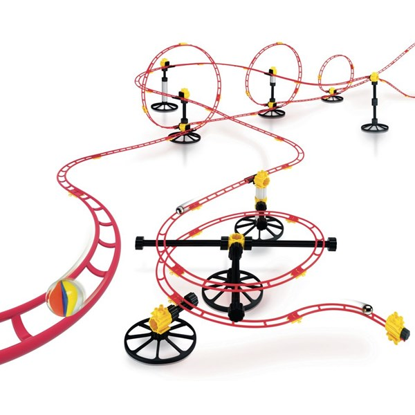 Skyrail Roller Coaster Maxi Rail, Kulebane, Quercetti
