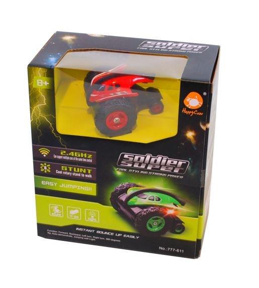Stunt Bil R C  Röd med svarta däck  Summertime - leksaksbilar & fordon