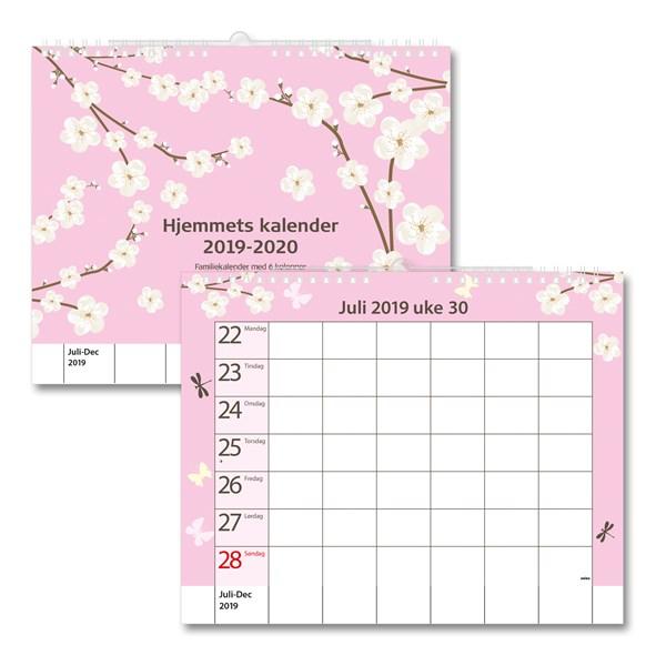 Familiekalender 19/20 Uke GRIEG Hjemkalenderen