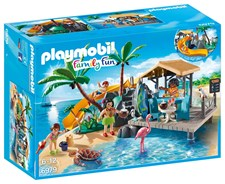 Mehubaari saarella, Playmobil Family Fun (6979)