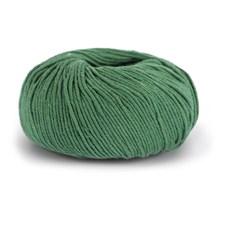 Knit At Home Classic Cotton Merino Villa Mix 50 g ruohon vihreä 826