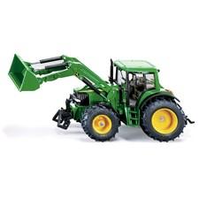 Siku, John Deere traktor med frontlastare, 1:32