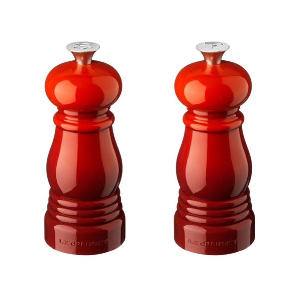 Le Creuset Salt- och Peppar Kvarnset Höjd 11 cm Cerise