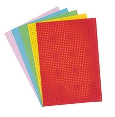 Broderibrett, Flerfarget Mix 17,5 X 24,5 cm, 10 blad, 300 g
