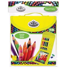 Piirustuskynät Cool Art Drawing Pencil Keep & Carry Set, Royal & Langnickel