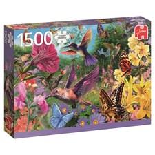 Hummingbird garden, Pussel 1500 bitar, Jumbo